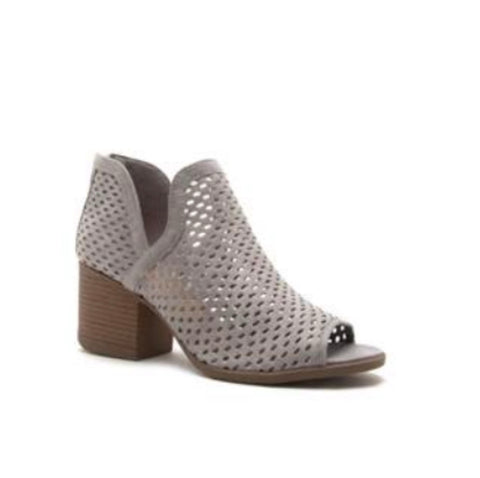 BLAIR ANKLE BOOTIE | LIGHT GREY
