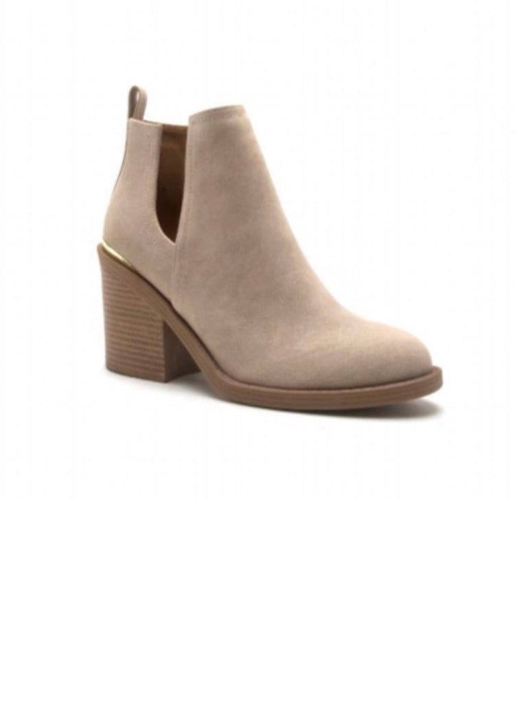 MARCEL ANKLE BOOTIE | STONE