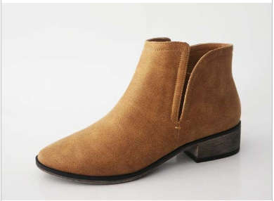 CASSIE ANKLE BOOTIE | TAN