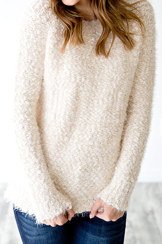 SNOWBALL SWEATER | IVORY