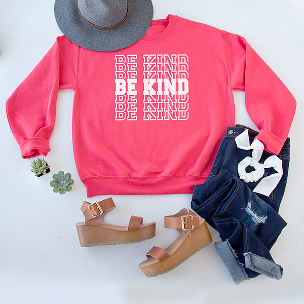 BE KIND {ON REPEAT} | BRIGHT CORAL