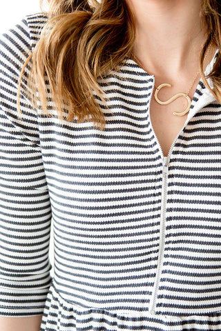 INITIAL NECKLACE | GOLD