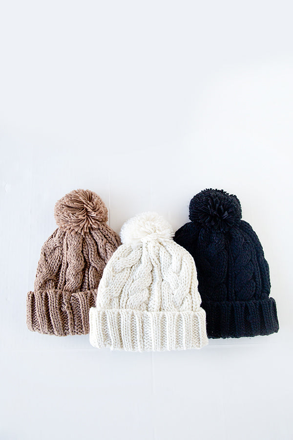 WINTER WONDERLAND BEANIE | 3 COLORS