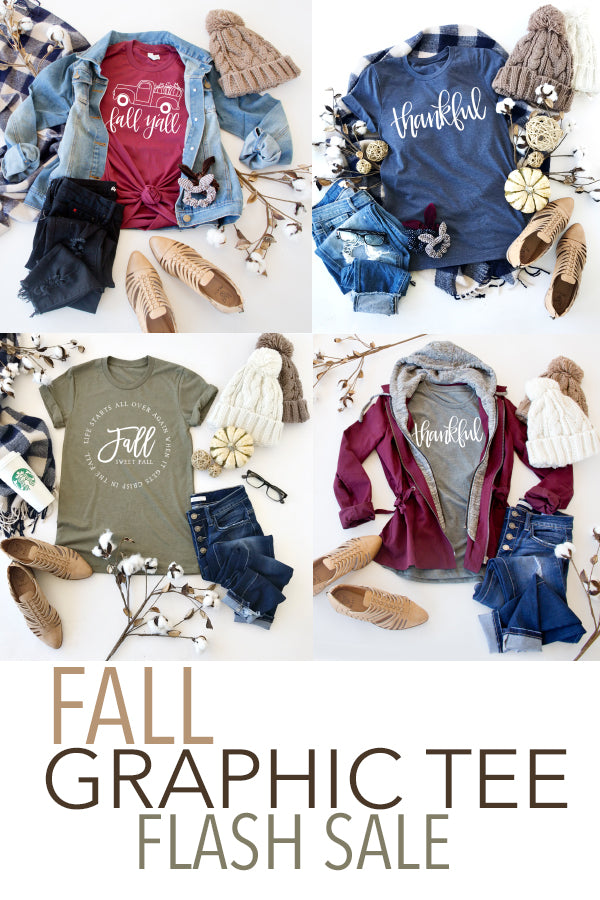 FALL GRAPHIC TEE | FLASH SALE