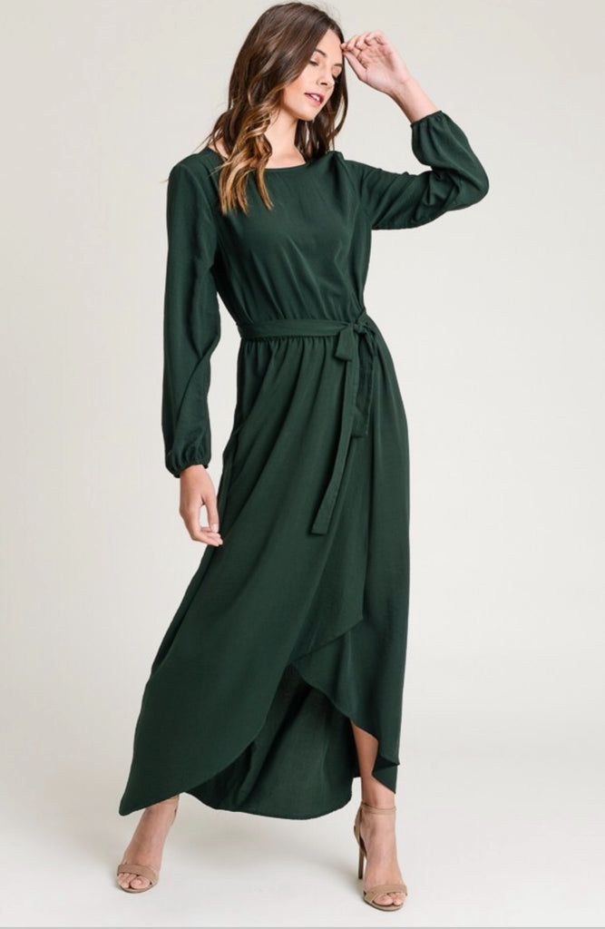 BROOKLYN DRESS | EVERGREEN