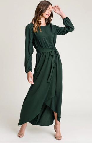 CHRISTMAS WISHES DRESS | EVERGREEN