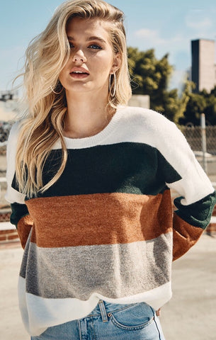 MURRAY COLORBLOCK SWEATER