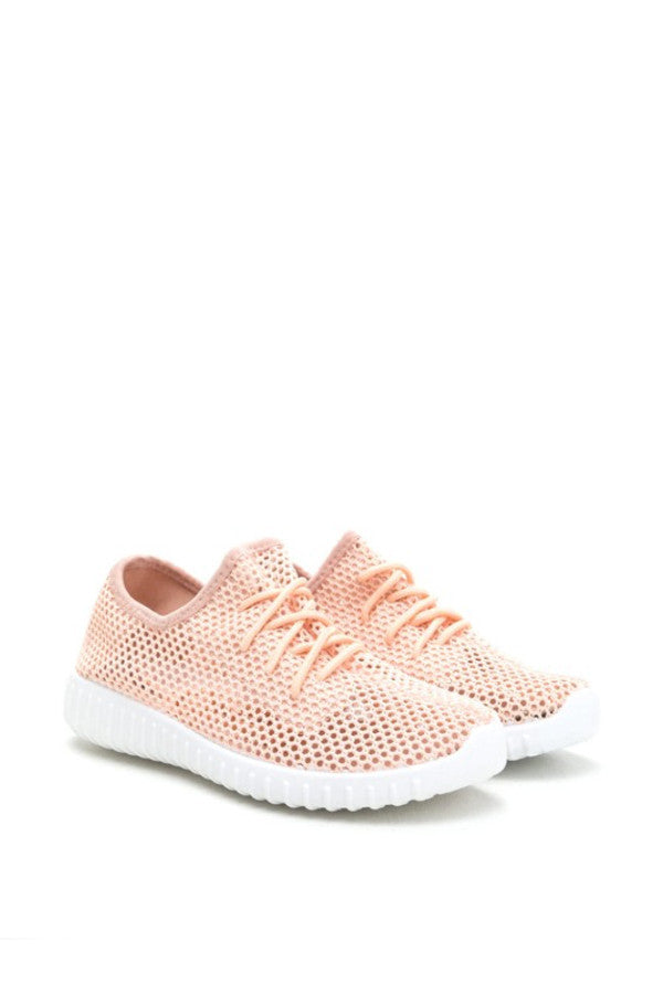 RECKLESS SNEAKER | PEACH