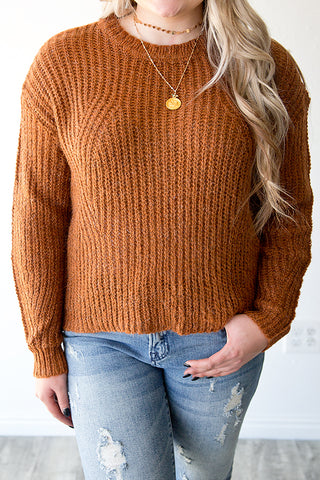 ASHEVILLE SWEATER | CLAY