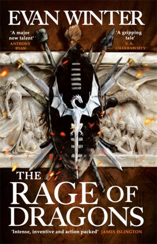 The Rage of Dragons : The Burning by Evan Winter