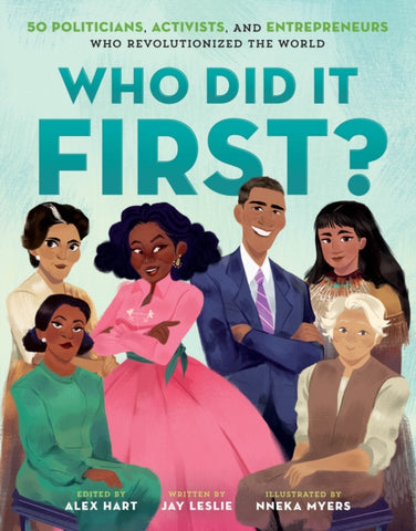 Who Did It First?  by Jay Leslie