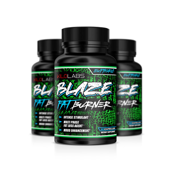 Kilo Labs: Blaze Fat Burner Capsules - Pro-flexx