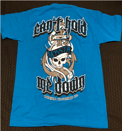 Can't Hold Me Down Tee - Pro-flexx