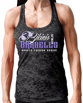 Bikinis and barbells tank top - Pro-flexx