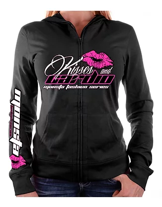 Kisses and Cardio Zipper Hoodie - Pro-flexx