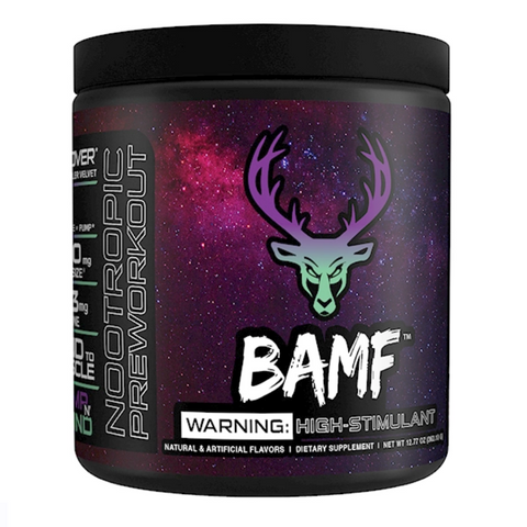 Bucked Up: BAMF High Stimulant Nootropic Pre-Workout - Pro-flexx