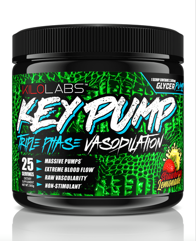 Kilo Labs: Key Pump Pre-workout | Pump Enhancer - Pro-flexx