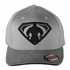 Monsta Man Super Hero FlexFit Hat -GREY - Pro-flexx