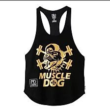 STRINGER Y-BACK MUSCLE TANK TOP(GOLD) - Pro-flexx