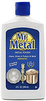 Mr. Metal Abrillantador de Vajilla - Frasco Liquido 8oz