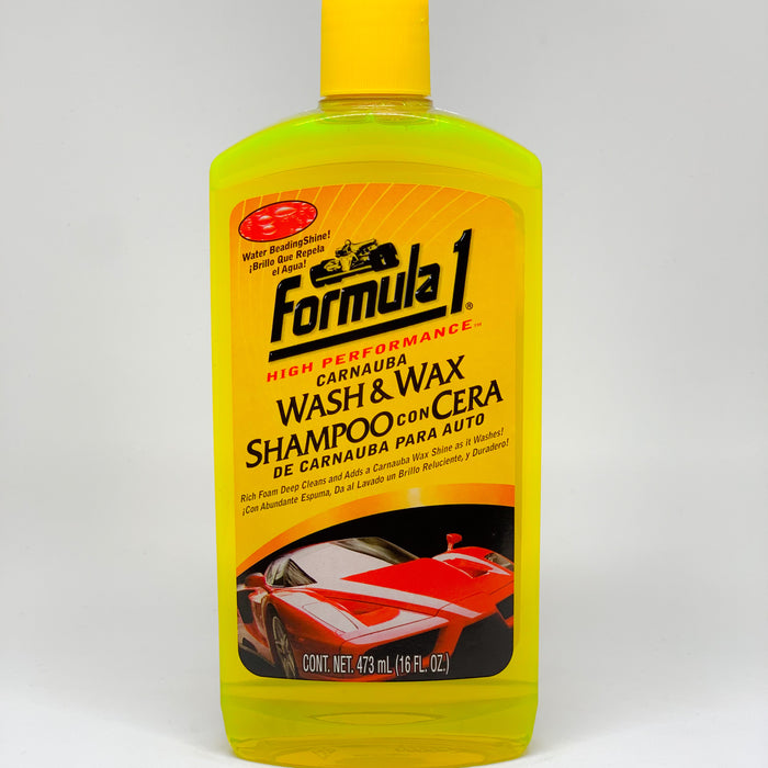 Shampoo con Carnauba - Wash & Wax 16oz (475ml)