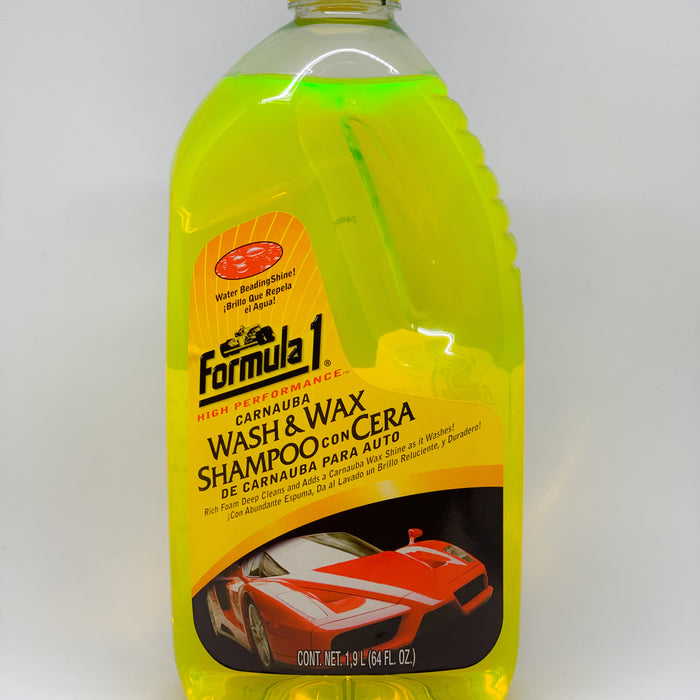 Shampoo Con Carnauba - Wash & Wax 64oz