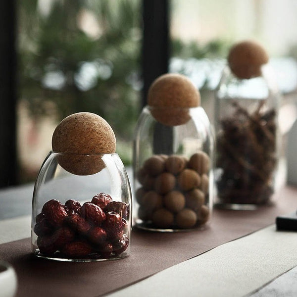 Zen Ball Glass Jars