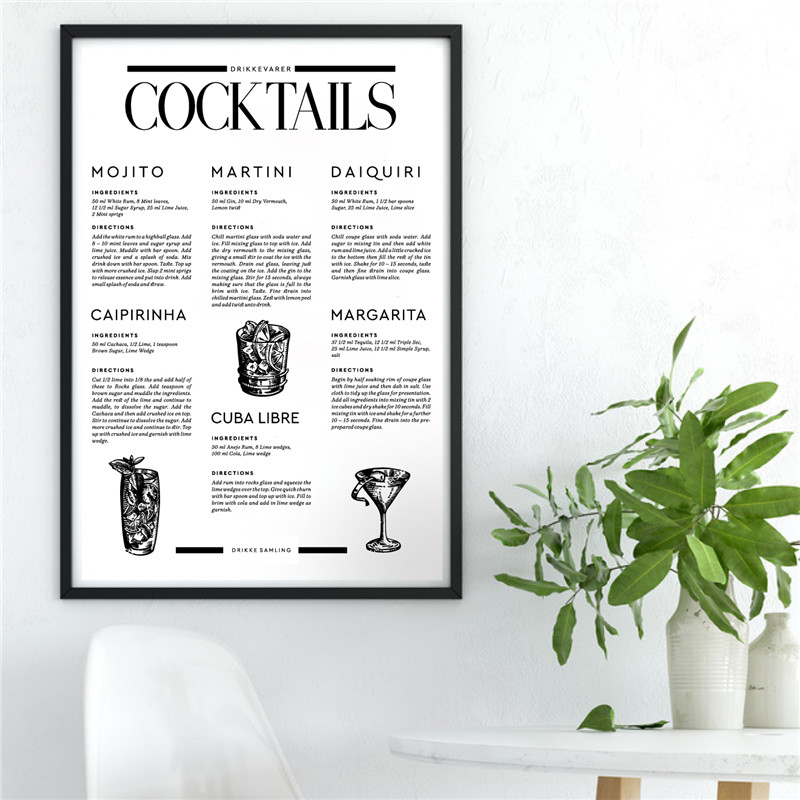 Signature Cocktails - Poster Series