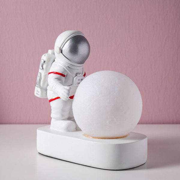 Astronaut Moon Desk Lamp