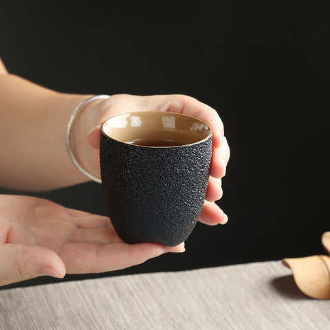Zen Nero Ceramic Tea Cup