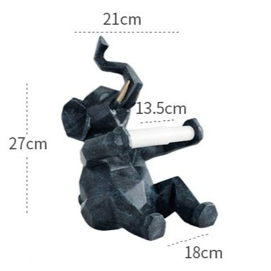 Newstead Elephant Toilet Paper Stand