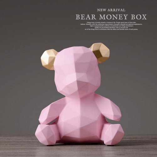 Hamilton Bear Coin Bank