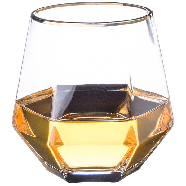 Zen Hexagon Crystal Glass