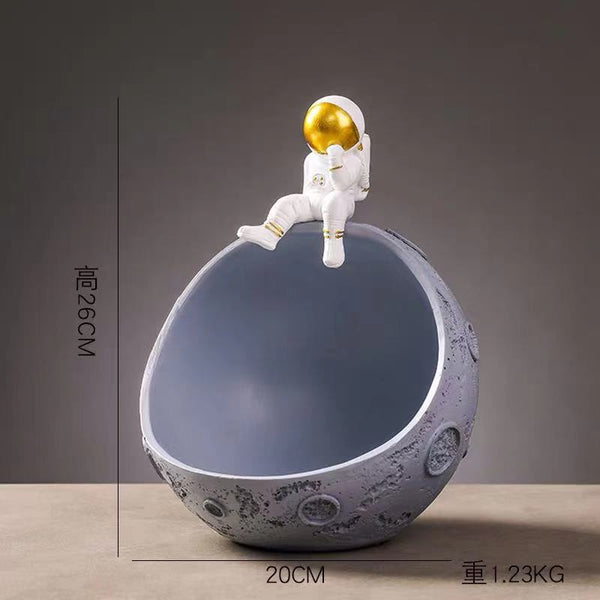 Man On The Moon Key Bowl