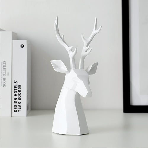 Brookfield Deer Head Figurine