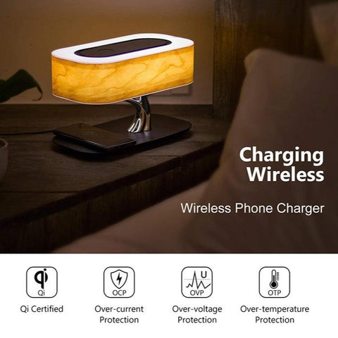 Zen Bedside Tree- Speaker, Light & Charger in One
