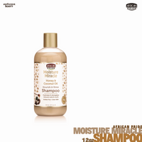 African Pride Moisture Miracle Honey & Coconut Oil Shampoo 12oz