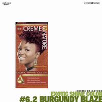 Creme Of Nature Exotic Shine Hair Color - #6.2 Burgundy Blaze