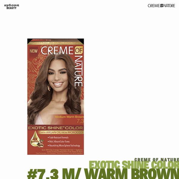 Creme Of Nature Exotic Shine Hair Color - #7.3 Medium Warm Brown
