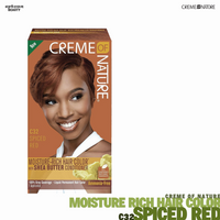 Creme Of Nature Moisture Rich Hair Color - C32 Spiced Red