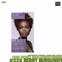 Dark and Lovely Fade Resist Rich Conditioning Hair Color #326 Berry Burgundy