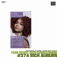 Dark and Lovely Fade Resist Rich Conditioning Hair Color #374 Rich Auburn