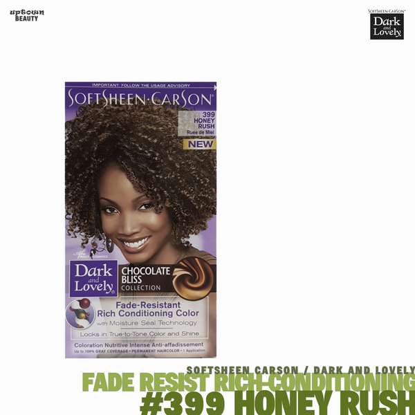 Dark and Lovely Fade Resist Rich Conditioning Hair Color #399 Honey Rush