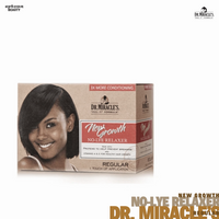 Dr. Miracle's New Growth No-Lye Relaxer Kit, Regular