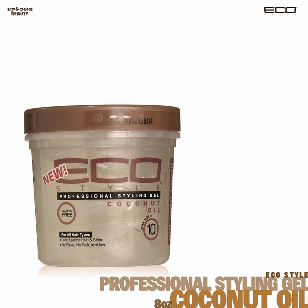 Eco Style Professional Coconut Oil Gel. 8oz