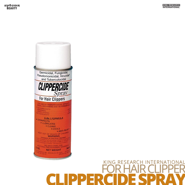 KING RESEARCH For Hair Clippers Clippercide Spray #15oz