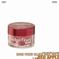 KISS Edge Fixer Glued Maximum Hold Red Apple 1oz
