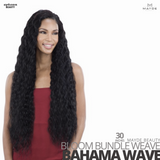 MAYDE BEAUTY Synthetic Bloom Bundle Weave #Bahama Wave 30 inches
