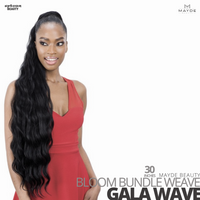 MAYDE BEAUTY Synthetic Bloom Bundle Weave #Gala Wave 30 inches