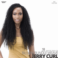 MAYDE BEAUTY Synthetic Bloom Bundle Weave #Jerry Curl 18 inches